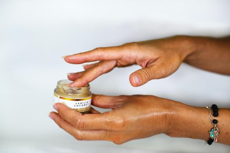 hemp cbd topical lotion