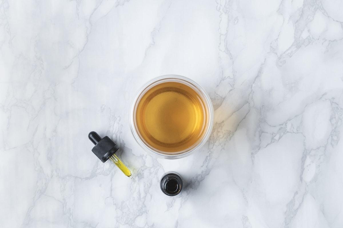 CBD oil cup