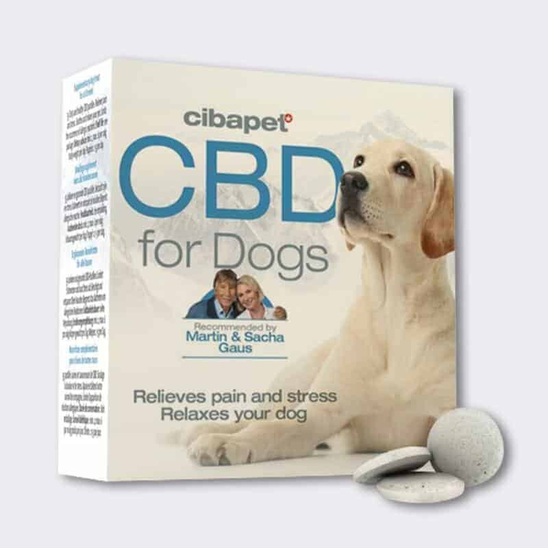 Cibapet CBD Oil for Dogs Box and Tablets